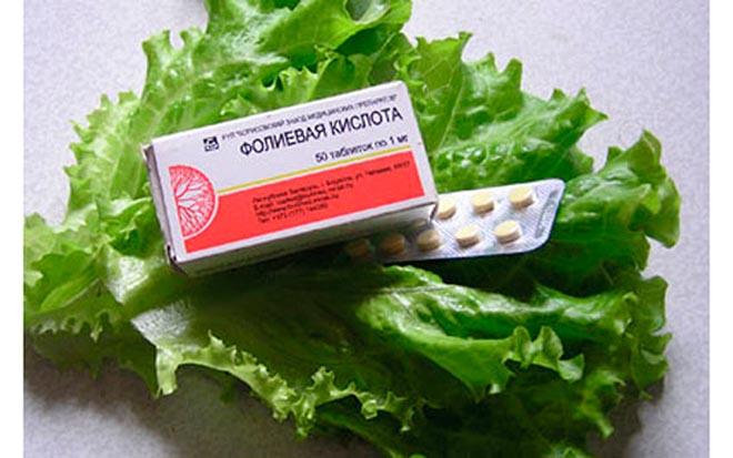 таблетки на салате