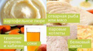 питание после лапароскопии