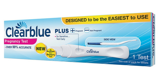 тест на беременность clearblue