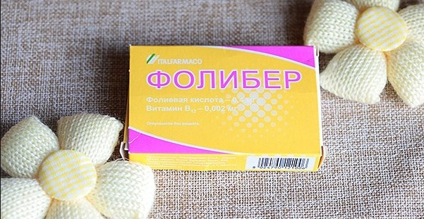 таблетки фолибер